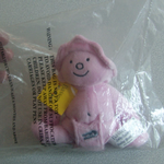 Bassett's Jelly Babies Baby Bonny plush beanie toy in baggie @sold@